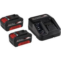 Akumulátor do náradia a nabíjačka, Einhell PXC-Starter-Kit 2x 3Ah & 30min PXC Kit 4512098, 18 V, 3.0 Ah, Li-Ion akumulátor
