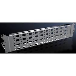Montážne podvozok Rittal VX 8100.730, 400 mm, nerezová ocel, 2 ks
