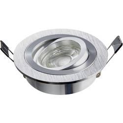 Vstavané svietidlo Heitronic DL7801 500591, 8 W, N/A, hliník