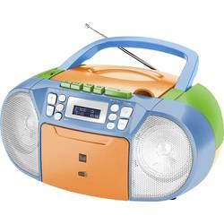 N/A Dual DAB-P 210 Boombox, CD, kazeta, AUX, farebná