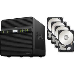 NAS server Synology DiskStation DS420j DS420J 32TB (4x8TB), 32 TB, vybavený 4x 8TB