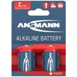Image of Ansmann LR14 Red-Line Baby (C)-Batterie Alkali-Mangan 1.5 V 2 St.