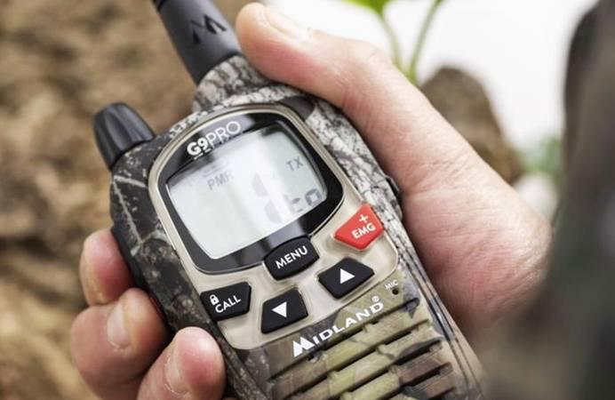 PMR-Funkgerät für den Outdoor-Einsatz