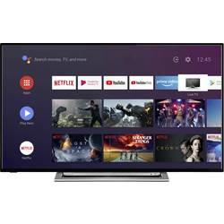 Toshiba 43UA3A63DG LED TV 108 cm 43 palca DVB-T2, DVB-C, DVB-S, UHD, Smart TV, WLAN, CI+ čierna, strieborná