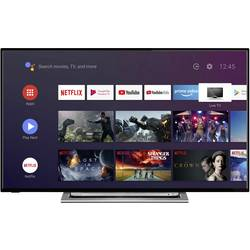 Toshiba 55UA3A63DG LED TV 139 cm 55 palca DVB-T2, DVB-C, DVB-S, UHD, Smart TV, WLAN, CI+ čierna, strieborná