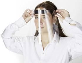 Infektionsschutz mit Gesichtsschutzschirmen