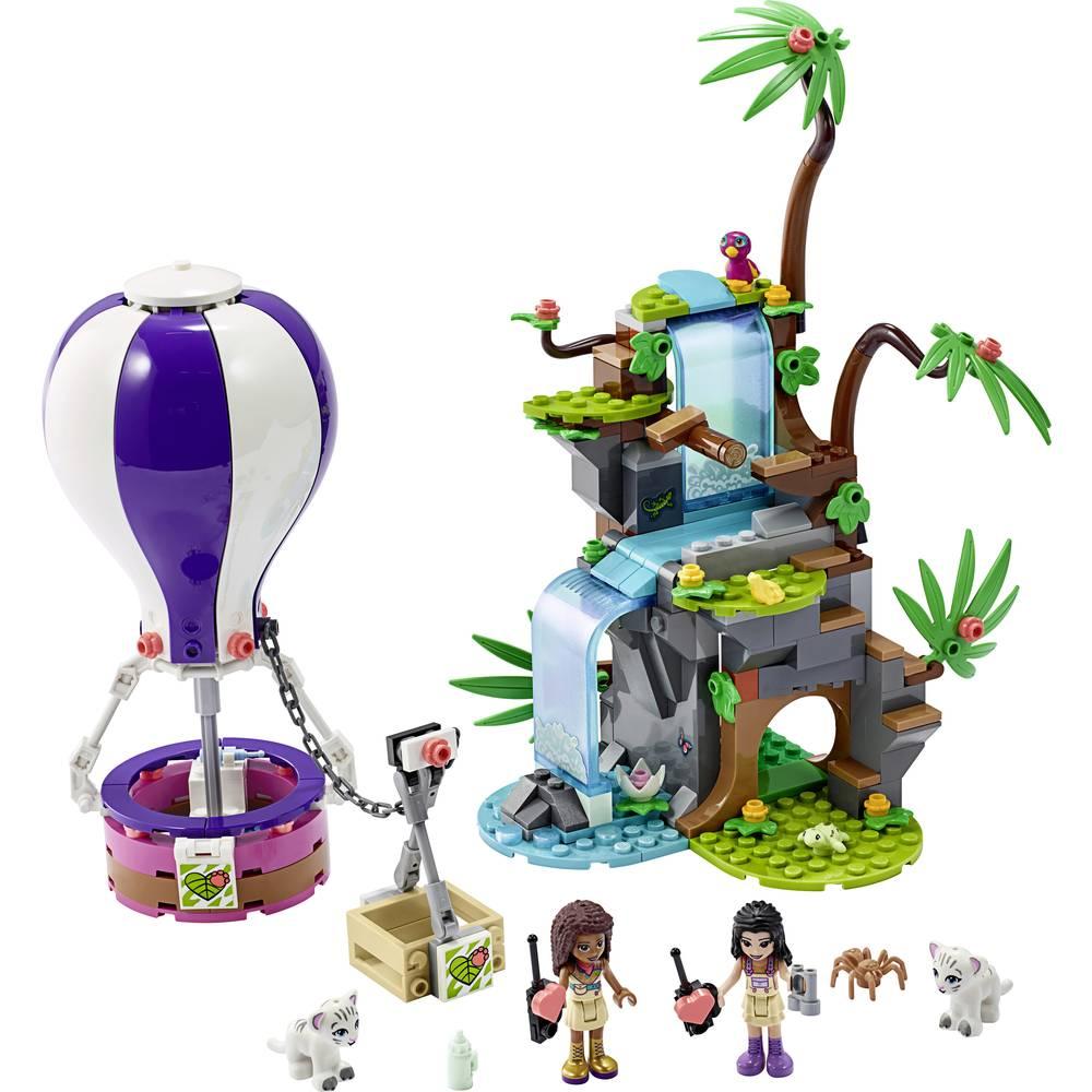 41423 Lego Friends Tijger Reddingsactie met Luchtballon in Jungle