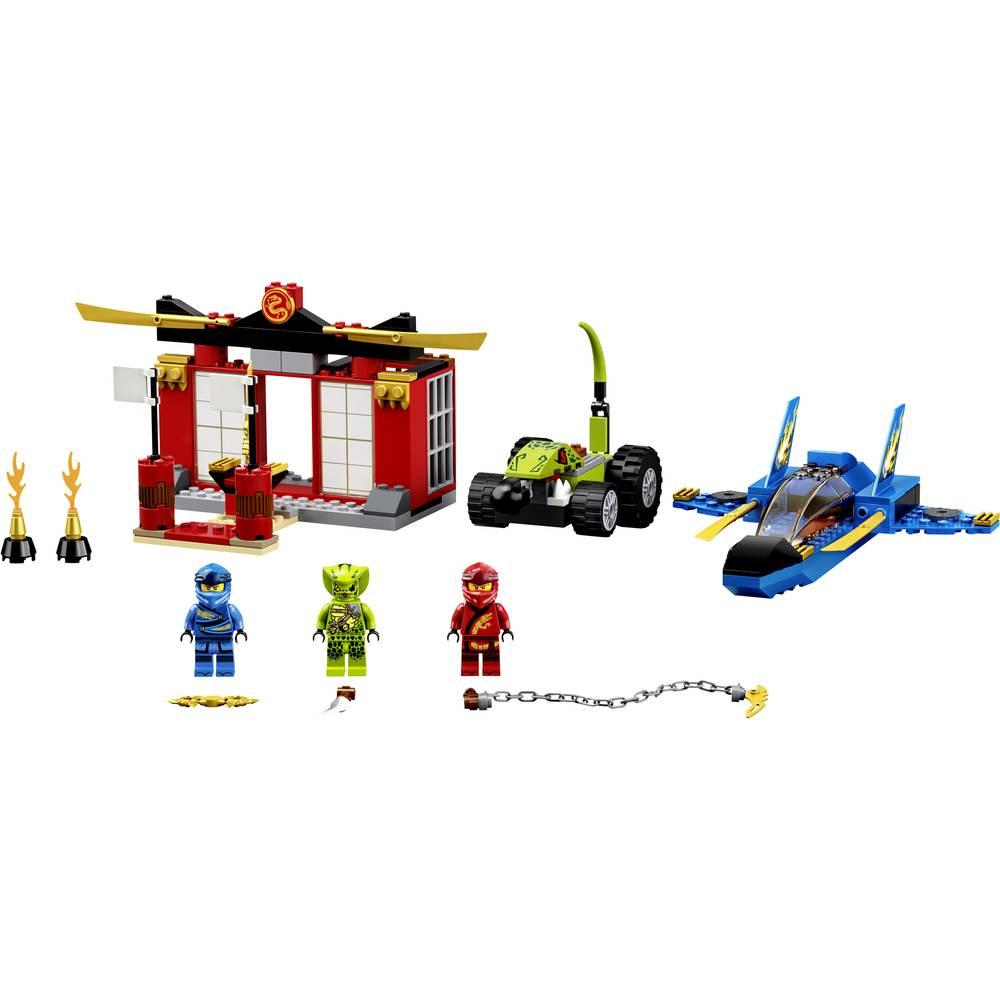 71703 Lego Ninjago Storm Fighter Gevecht