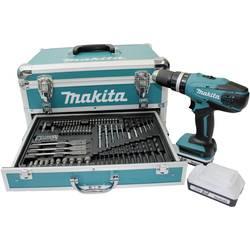 Aku príklepová vŕtačka Makita HP457DWEX4 HP457DWEX4, 18 V, 1.5 Ah, Li-Ion akumulátor
