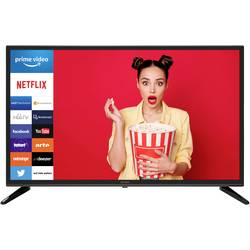 Dyon DYON Smart 32 XT LED TV 80 cm 31.5 palca DVB-T2, DVB-C, DVB-S, HD ready, Smart TV, WLAN, CI+ čierna