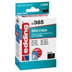 Kompatibilná náplň do tlačiarne Edding EDD-385 18-385, čierna