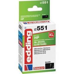 Kompatibilná náplň do tlačiarne Edding EDD-551 18-551, čierna