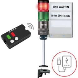 Bezdrôtové riadenie prístupu SignalSET Riadenie prístupu, diaľkovo ovládané Werma Signaltechnik KombiSign 72 64919102, 230 V/AC, výstražný maják
