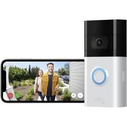 Wi-Fi domové IP / video telefón ring Video Doorbell 3 8VRSLZ-0EU0, strieborná