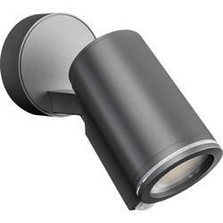 LED vonkajšie osvetlenie s PIR senzorom Steinel SPOT ONE S CONNECT ANT 058630, 7 W, antracitová