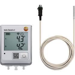Teplotný datalogger testo TESTO SAVERIS 2-T2 + 0628 7503, Merná veličina teplota