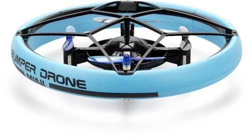 Spielzeug-Drohne mit Rundumschutz bei Kollisionen