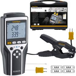 Teplomer Laserliner ThermoMaster Plus Set 082.036A, -150 do 1370 °C, Kalibrované podľa: bez certifikátu