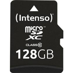 Pamäťová karta micro SDXC, 128 GB, Intenso Class 10, vr. SD adaptéru