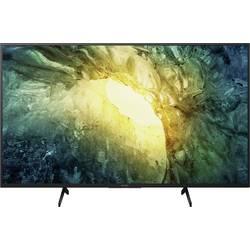 Sony KD43X7055BAEP LED TV 108 cm 43 palca en.trieda A (A +++ - D) WLAN, DVB-T2 HD, DVB-S2, DVB-C, CI+, UHD čierna