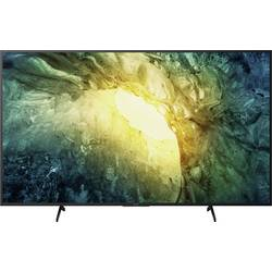 Sony KD55X7055BAEP LED TV 139 cm 55 palca WLAN, DVB-T2 HD, DVB-S2, DVB-C, CI+, UHD, Smart TV čierna