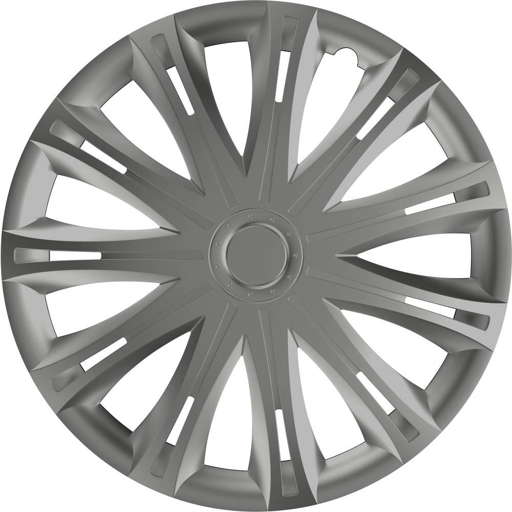 hpautozubehör HP Autozubehör Wieldoppen R15 Zilver 1 stuk(s)