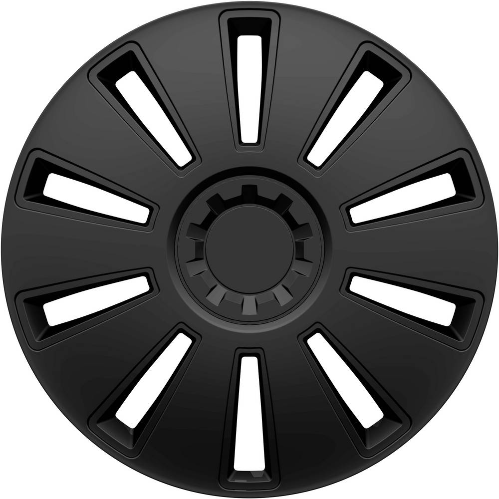 hpautozubehör HP Autozubehör GRID Wieldoppen R14 Zwart 1 stuk(s)