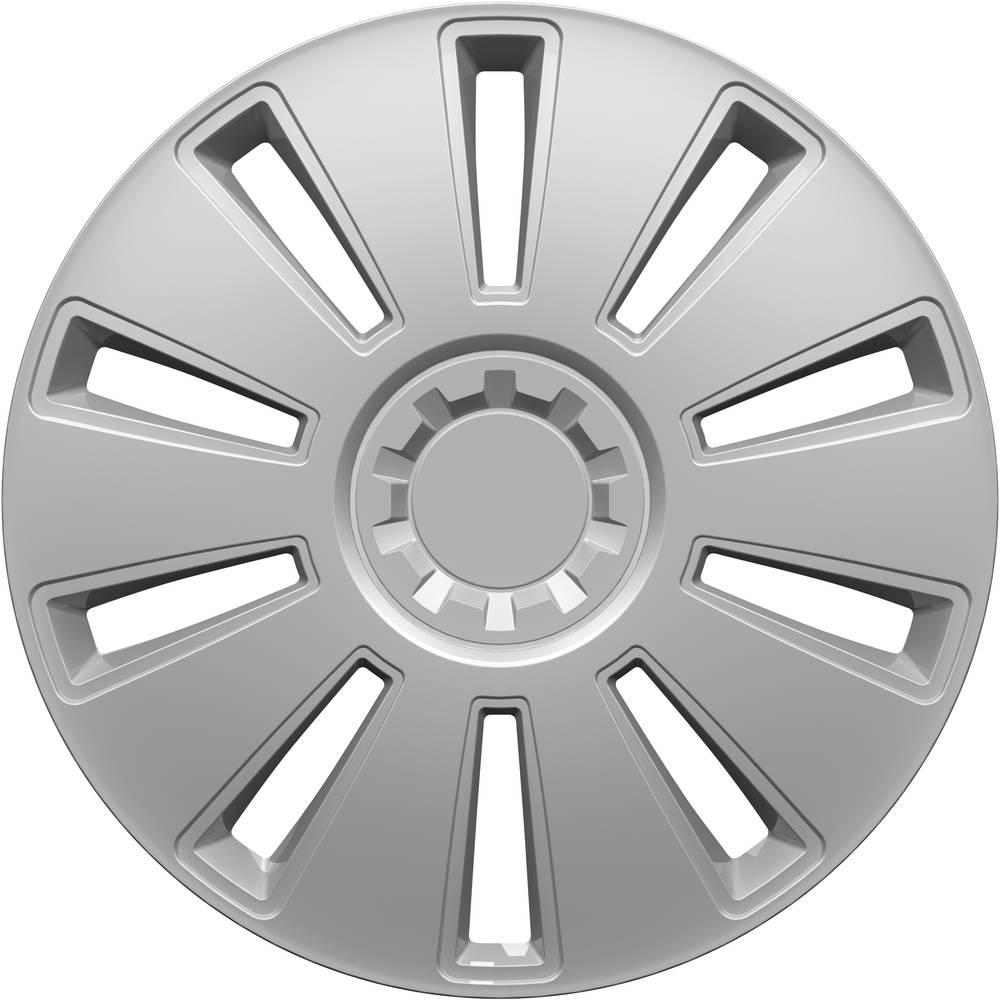 hpautozubehör HP Autozubehör GRID Wieldoppen R13 Zilver 1 stuk(s)