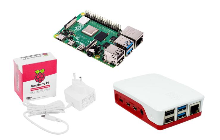 Raspberry Pi® Essentials Kit Raspberry Pi® 3 B+ »