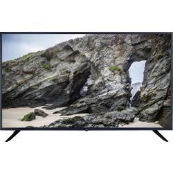 JayTech S43U4348M LED TV 108 cm 43 palca en.trieda A (A +++ - D) DVB-T2, DVB-C, DVB-S, UHD, Smart TV, WLAN, CI+ čierna