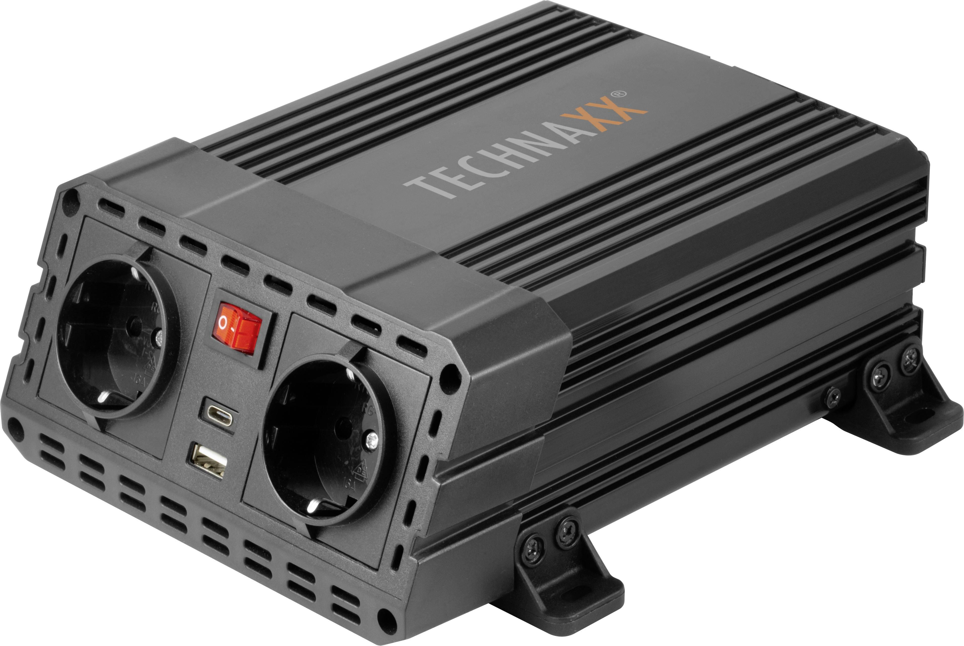 Technaxx Wechselrichter TE19 600 W 12 VDC 230 VAC