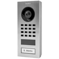 Wi-Fi domové IP / video telefón DoorBird DoorBird IP Video Türstation D1101V Aufputz 423866744, strieborná (kartáčovaná)