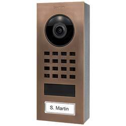 Wi-Fi domové IP / video telefón DoorBird DoorBird IP Video Türstation D1101V Aufputz 423867437, bronz