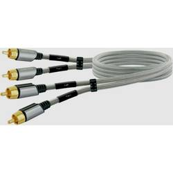 Cinch audio prepojovací kábel Schwaiger AIAU6025 413, 2.50 m, space Grau