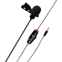 Nasadzovací rečnícky mikrofón Hama Smart, káblový, vr. svorky, vr. tašky, vr. ochrany proti vetru