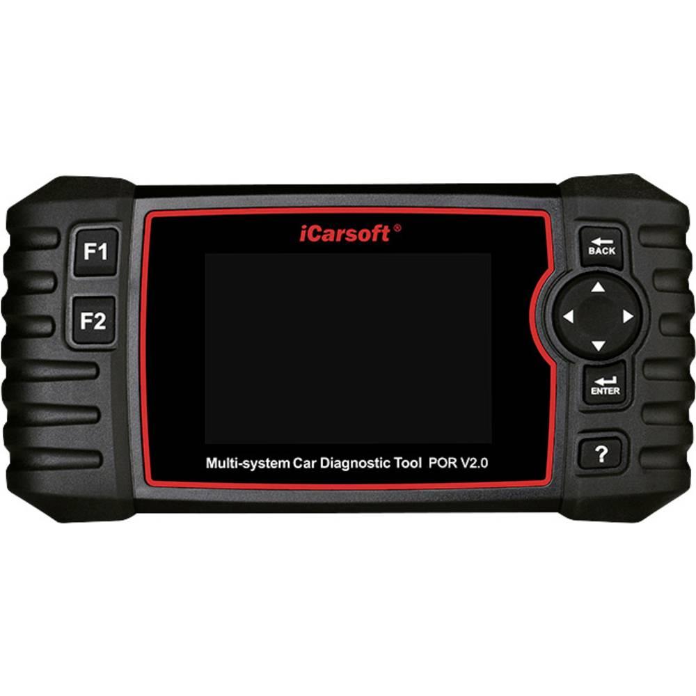 icarsoft OBD II diagnosetool POR V2.0 icpor2 Geschikt voor (automerken): Porsche Onbeperkt