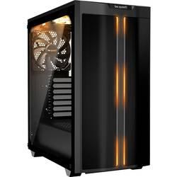 PC skrinka midi tower BeQuiet PURE BASE 500DX, čierna