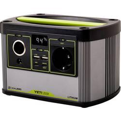 Prenosná nabíjacia stanica Goal Zero Yeti 200X, Li-Ion akumulátor, 52000 mAh, čierna, zelená