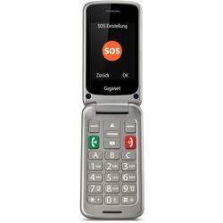 Gigaset GL590 telefón pre seniorov - véčko strieborná