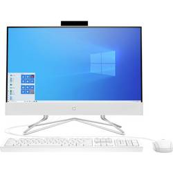 Image of HP 22-df0004ng 54.6 cm (21.5 Zoll) All-in-One PC AMD Ryzen™ 3 3250U 8 GB 256 GB SSD AMD Radeon Windows® 10 Home Weiß