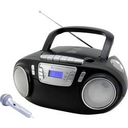 N/A soundmaster SCD5800SW, UKW, USB, kazeta, rádioprehrávač, čierna
