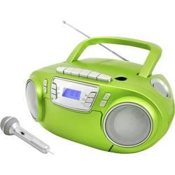 N/A soundmaster SCD5800GR, UKW, USB, kazeta, rádioprehrávač, zelená