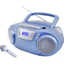 N/A soundmaster SCD5800BL, UKW, USB, kazeta, rádioprehrávač, modrá