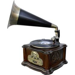 Gramofón soundmaster NR917 hnedá, zlatá, čierna