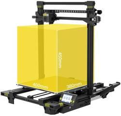 Maße eines 3D Druckers aus Metall