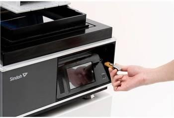 3D Drucker mot USB Druckstelle