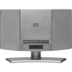 Stereo systém Denver MC-5220 Silver, CD, AUX, UKW, strieborná
