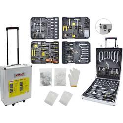 Kufrík na náradie s náradím WMC Tools 2274813, (d x š x v) 37 x 20 x 51 cm