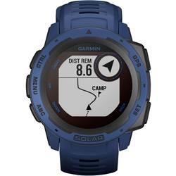Smart hodinky Garmin Instinct® Solar, tmavomodrá