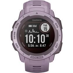 Smart hodinky Garmin Instinct® Solar, purpurová
